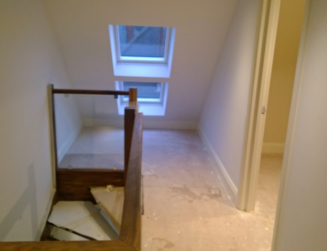 Staircase and Loft conversion North London London staircase loft conversions