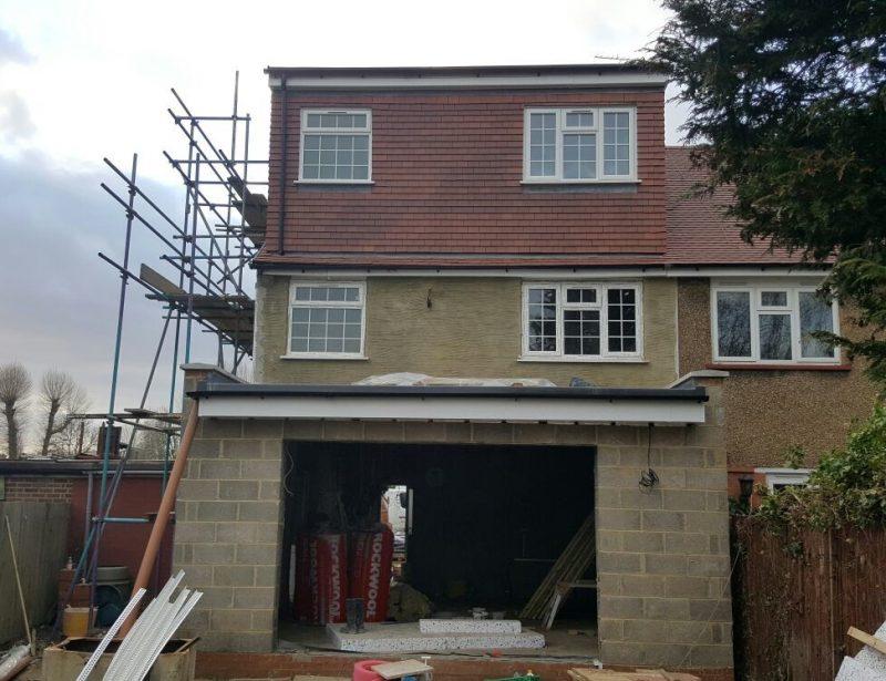 extensions back extension Barnet En 5 loft conversion back extension