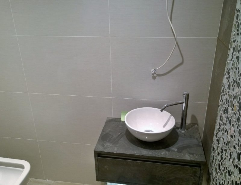 bathroom fitting west london for tiny surfaces small