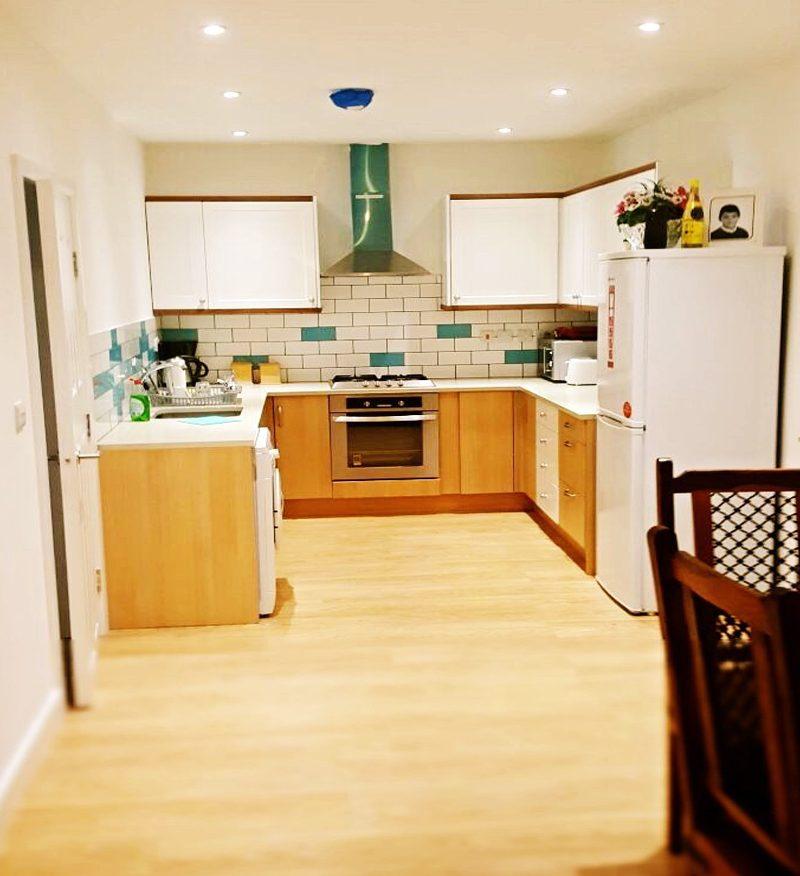 kitchen fitting wood green apollo loft extensions